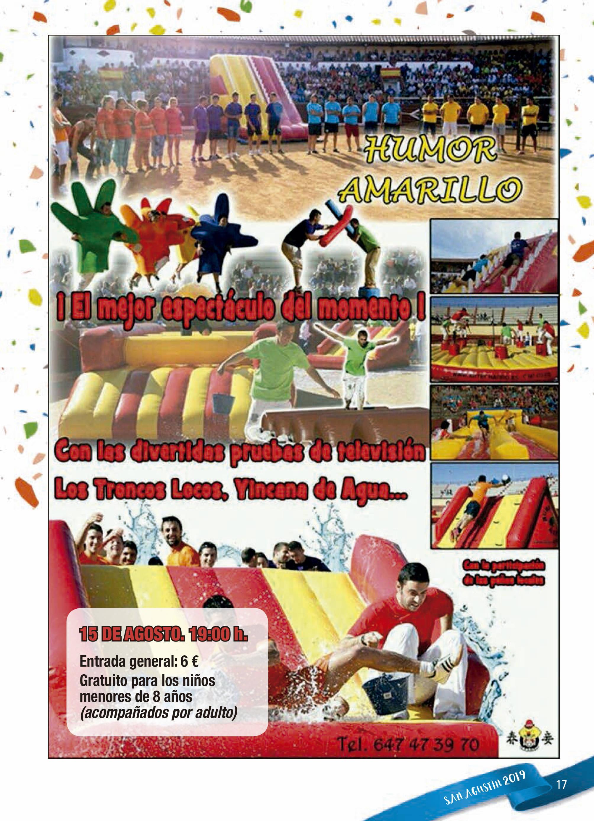 Programa de ferias y fiestas 2019 - Fermoselle (Zamora) 6