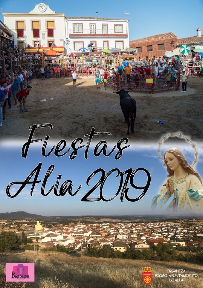 Programa de fiestas 2019 - Alía (Cáceres) 1