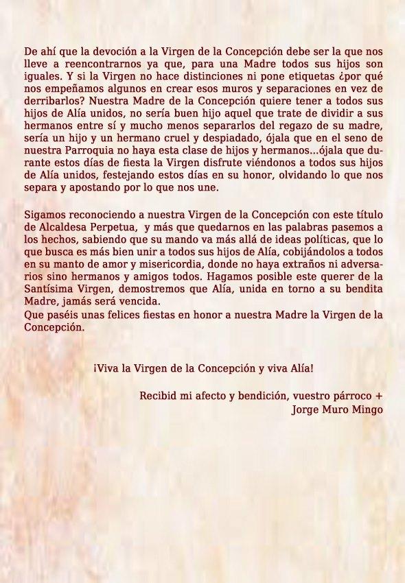 Programa de fiestas 2019 - Alía (Cáceres) 5