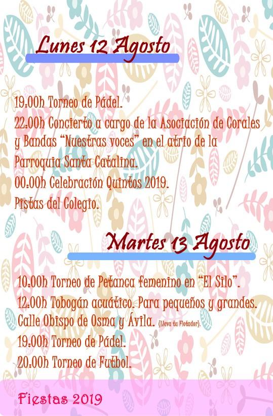 Programa de fiestas 2019 - Alía (Cáceres) 7