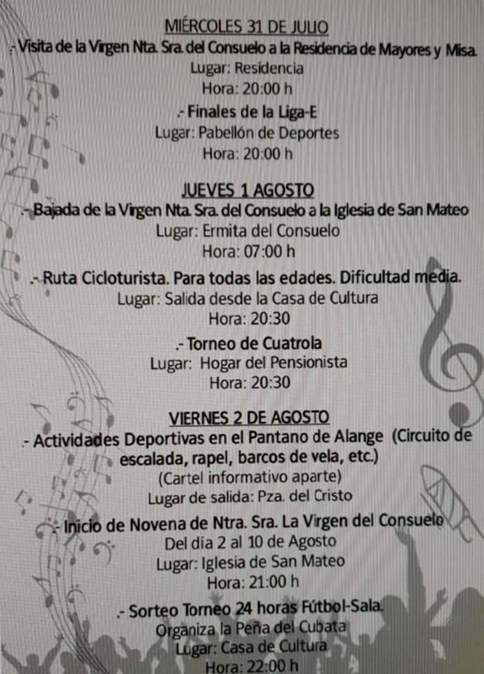 Programa de fiestas 2019 - Logrosán (Cáceres) 2