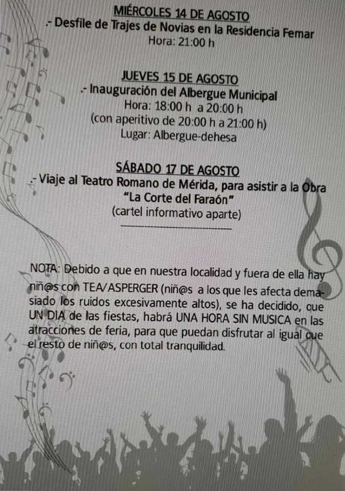 Programa de fiestas 2019 - Logrosán (Cáceres) 9
