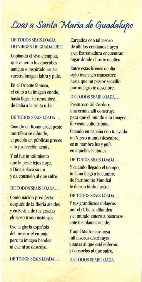 Programa de peregrinación y fiestas mayores 2019 - Guadalupe (Cáceres) 6