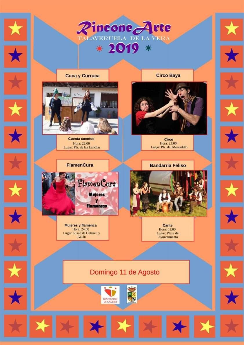 Rincone arte 2019 - Talaveruela de la Vera (Cáceres)