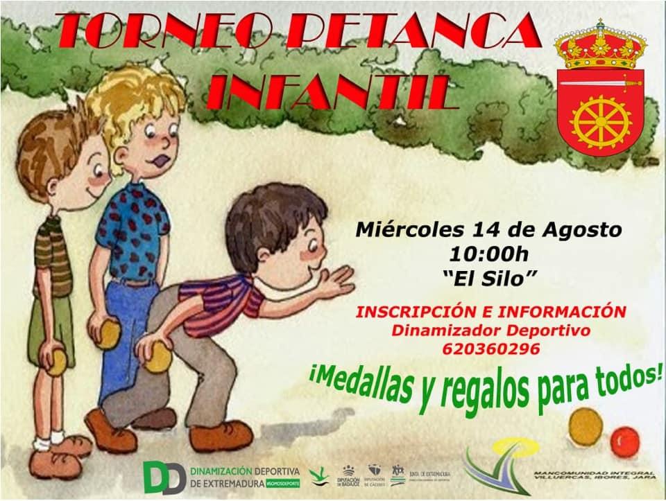 Torneo de petanca infantil agosto 2019 - Alía (Cáceres)