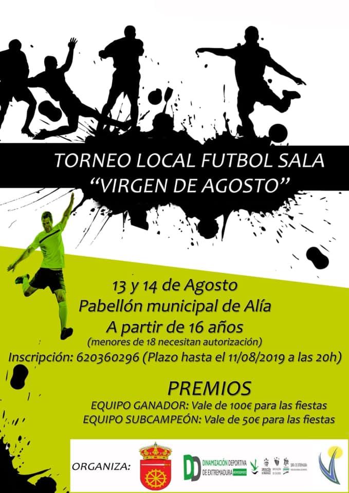 Torneo local de fútbol sala 2019 - Alía (Cáceres)
