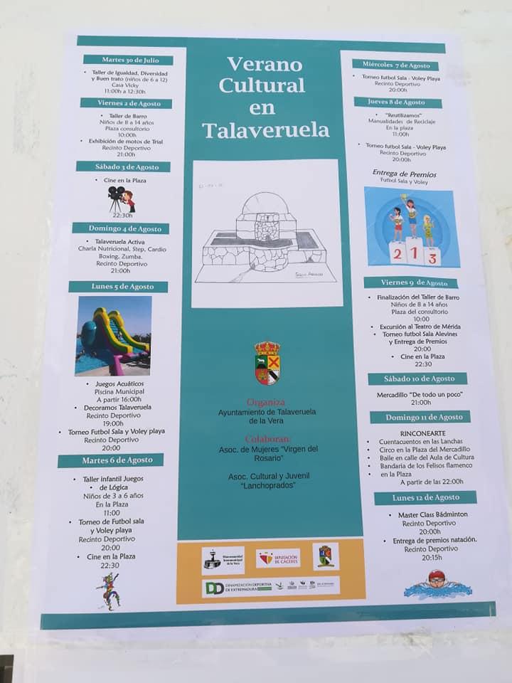 Verano cultural 2019 - Talaveruela de la Vera (Cáceres)