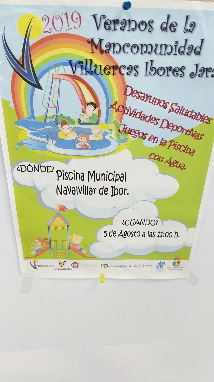 Veranos de la Mancomunidad 2019 - Navalvillar de Ibor (Cáceres)