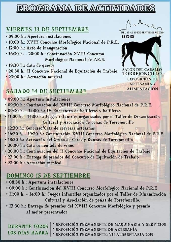 XVIII Concurso morfológico nacional - Torrejoncillo (Cáceres) 2