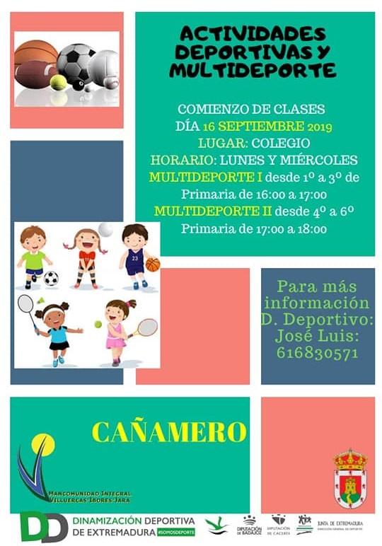 Actividades deportivas 2019 - Cañamero (Cáceres) 1