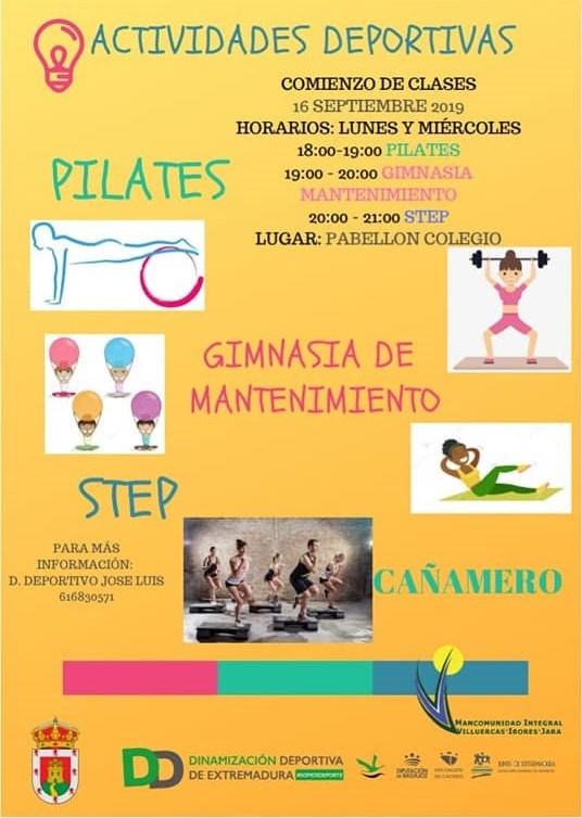 Actividades deportivas 2019 - Cañamero (Cáceres) 2
