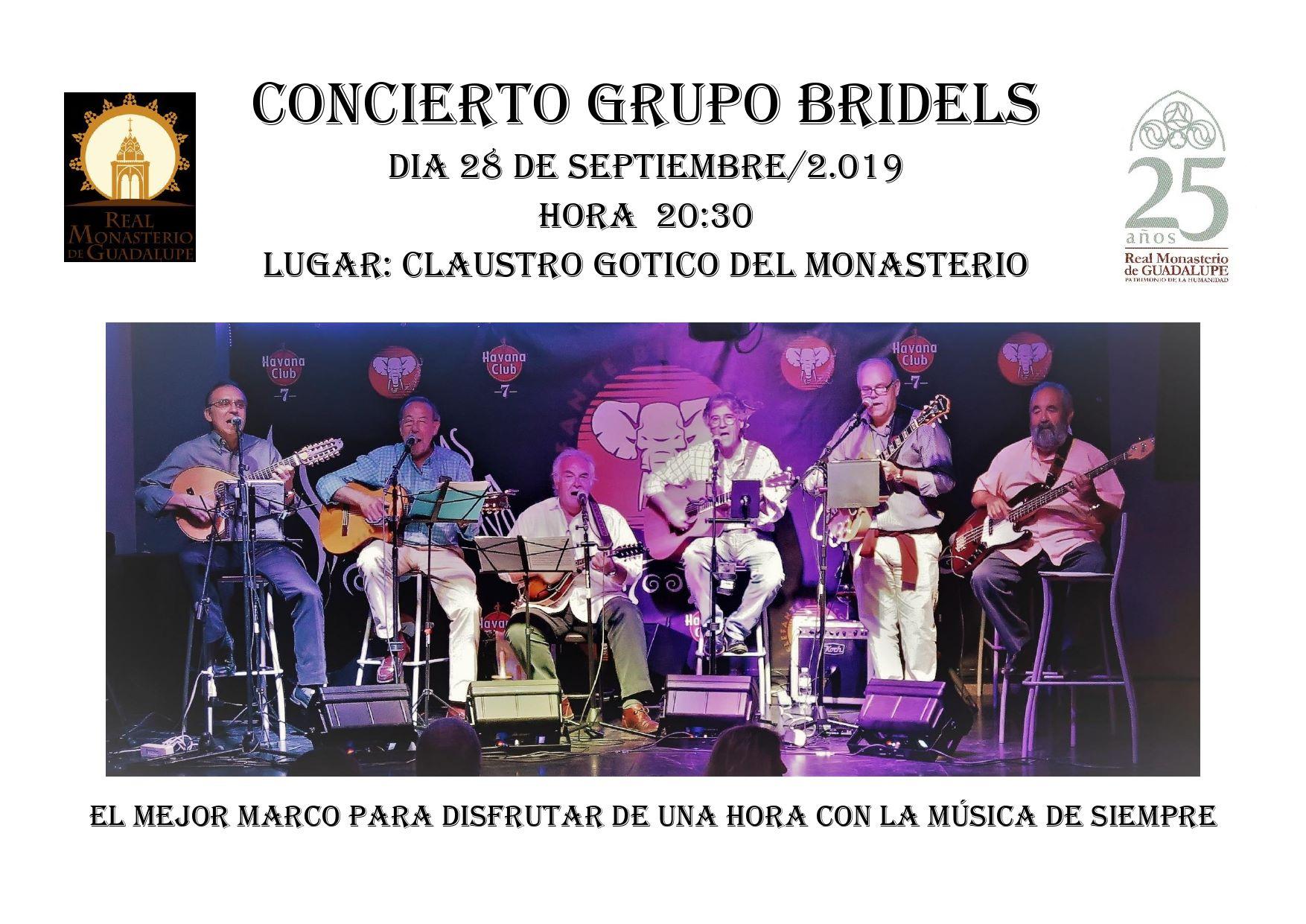 Concierto Grupo Bridels 2019 - Guadalupe (Cáceres)