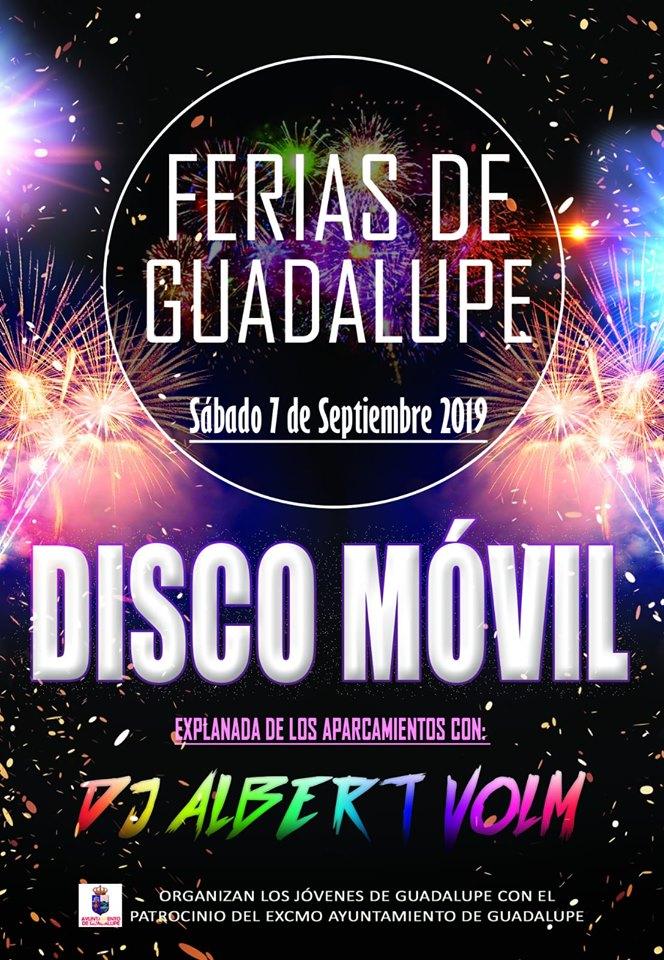 Disco móvil septiembre 2019 - Guadalupe (Cáceres)