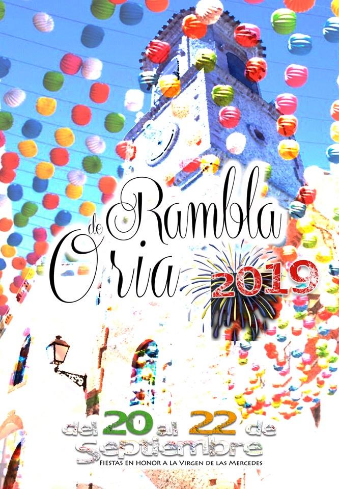 Fiestas de la Rambla 2019 - Oria (Almería) 1