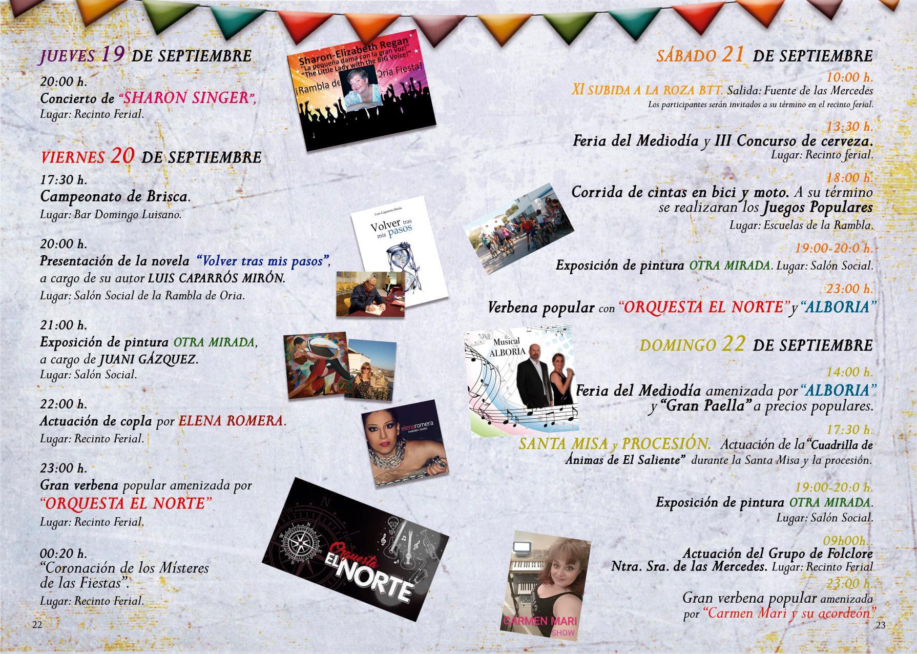 Fiestas de la Rambla 2019 - Oria (Almería) 2