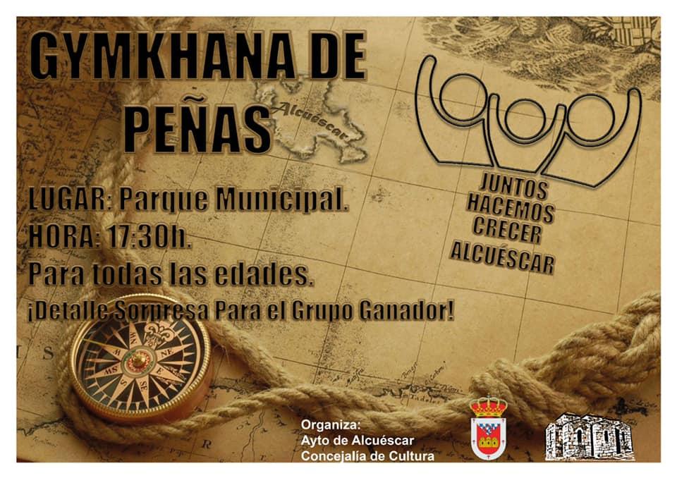 Gymkhana de peñas 2019 - Alcuéscar (Cáceres)