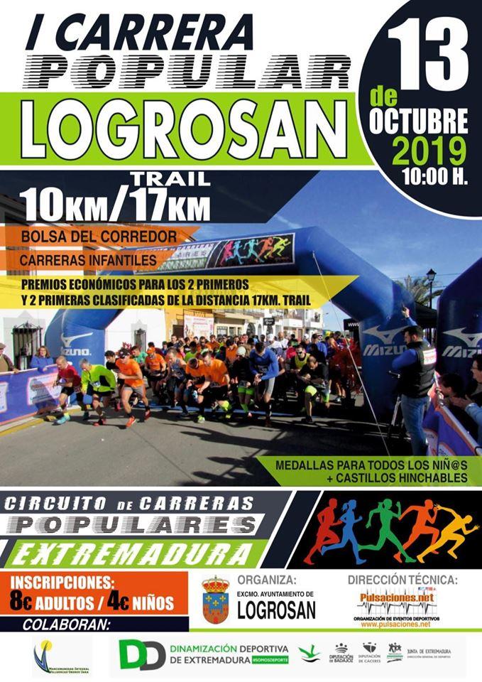 I Carrera popular - Logrosán (Cáceres)