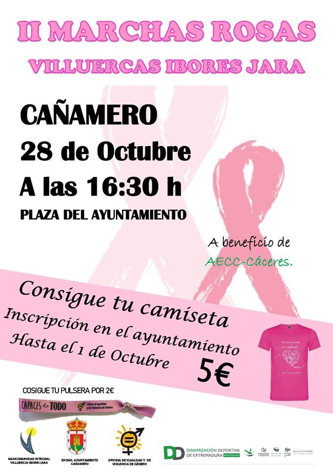 II Marchas rosas Villuercas Ibores Jara - Cañamero (Cáceres)