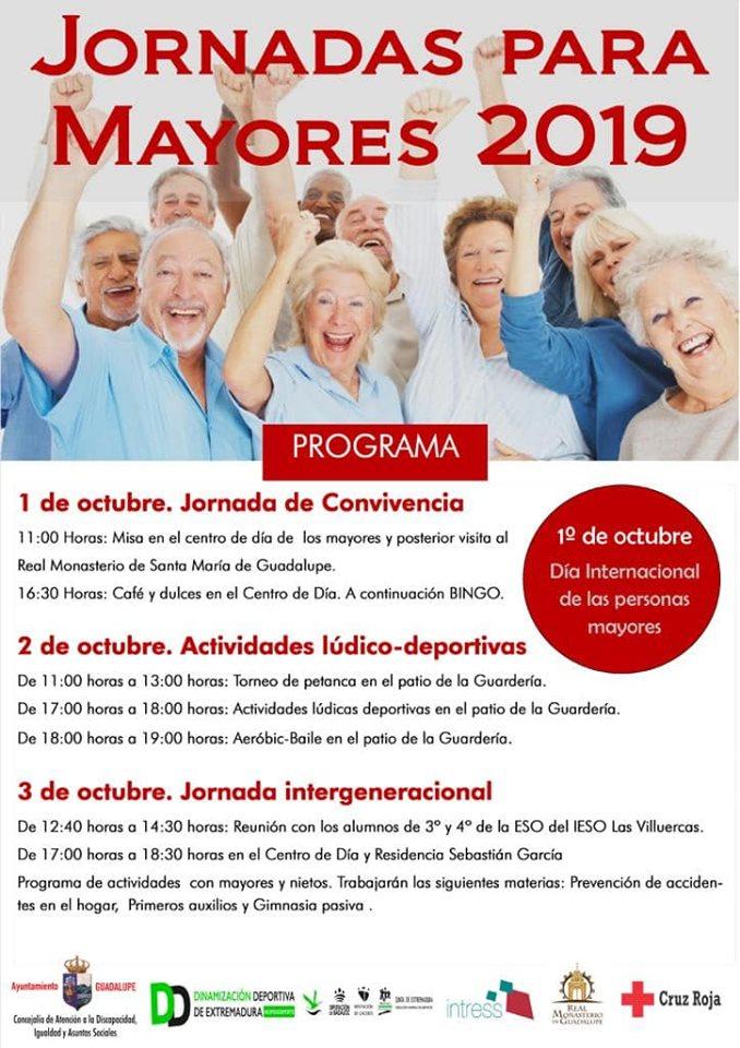 Jornadas para mayores 2019 - Guadalupe (Cáceres)
