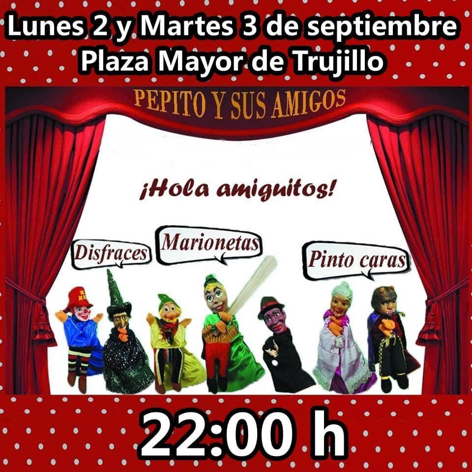 Las aventuras de Pepito y sus amigos septiembre 2019 - Trujillo (Cáceres)