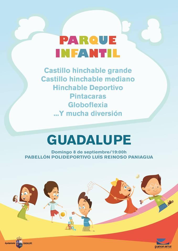 Parque infantil 2019 - Guadalupe (Cáceres)