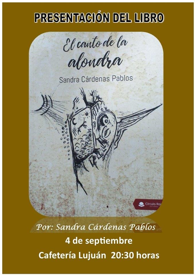 Presentación del libro El canto de la alondra - Guadalupe (Cáceres)