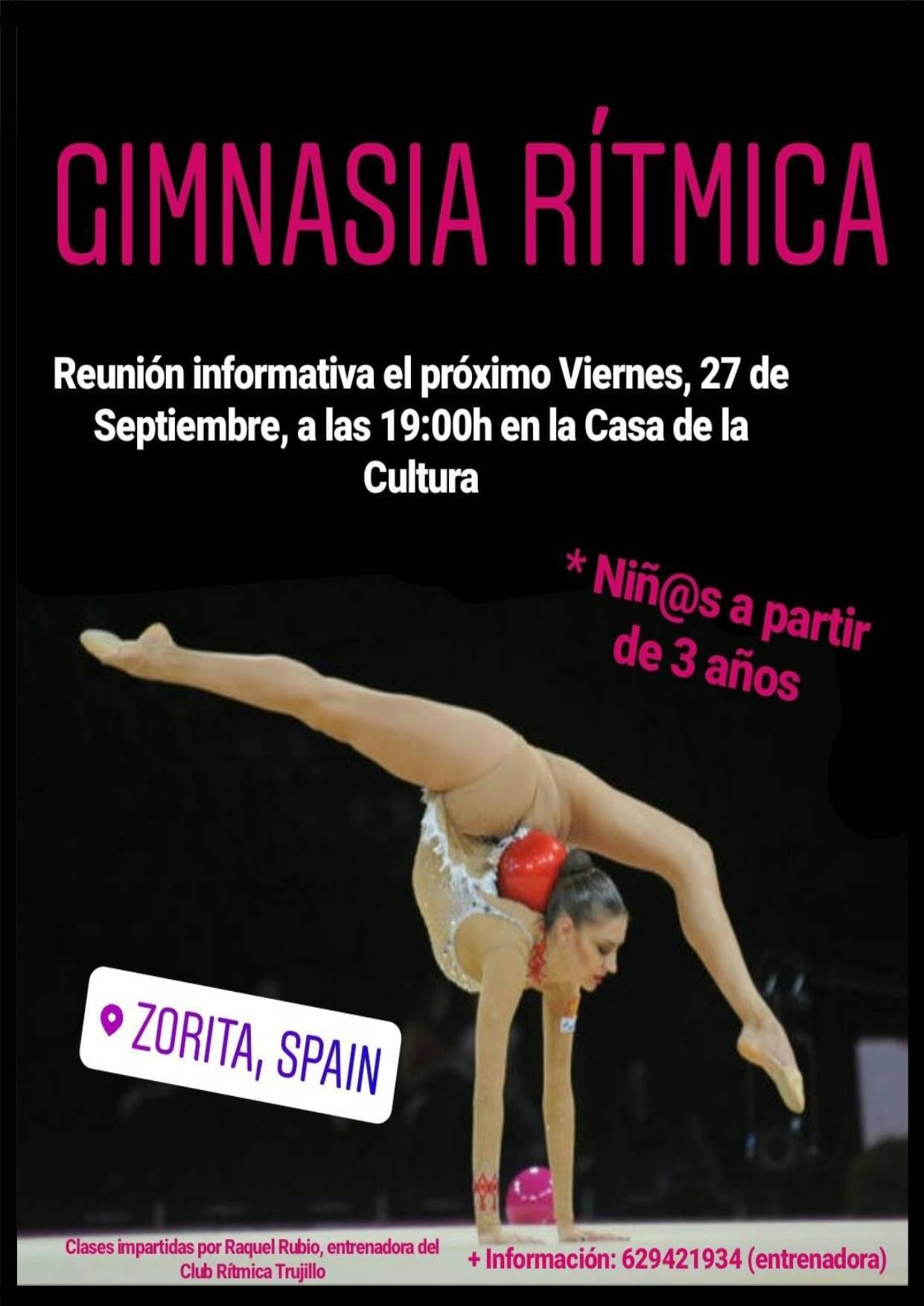 Reunión informativa de gimnasia rítmica 2019 - Zorita (Cáceres)