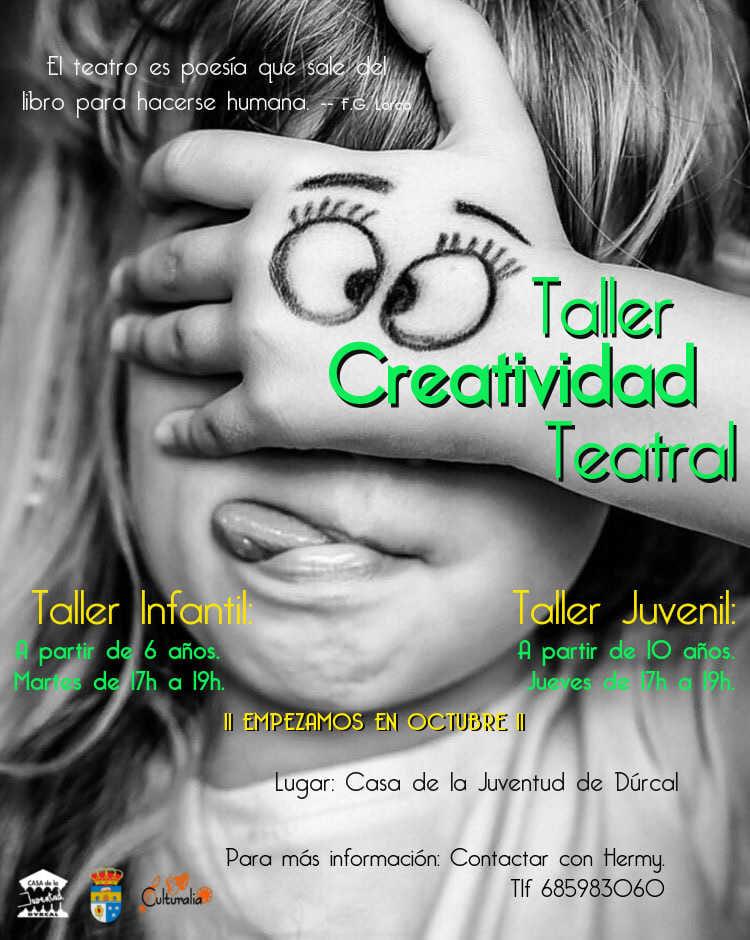 Taller de creatividad teatral 2019 - Dúrcal (Granada)