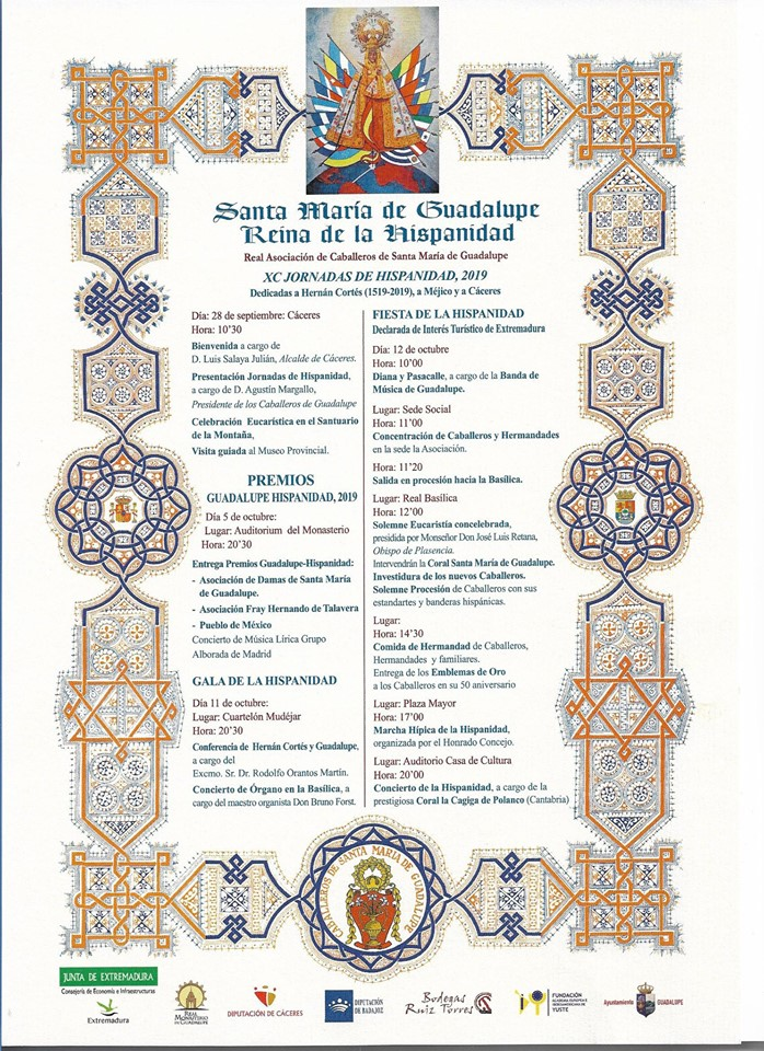 XC Jornadas de la Hispanidad - Guadalupe (Cáceres)