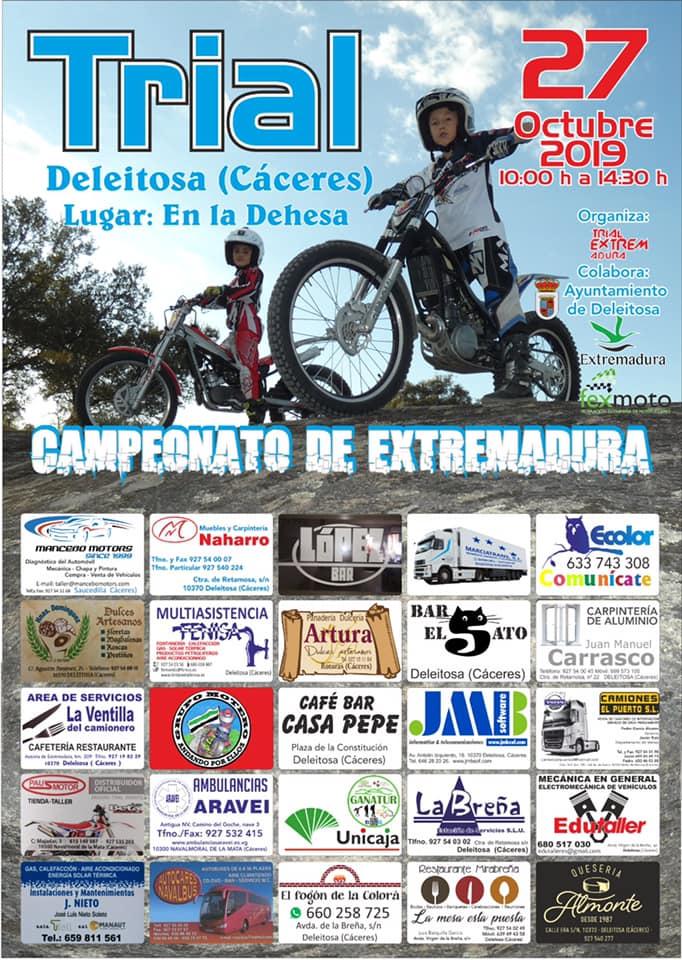 Campeonato de Extremadura de trial 2019 - Deleitosa (Cáceres)