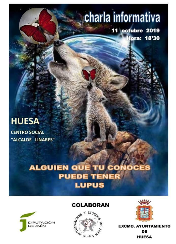 Charla informativa sobre el Lupus 2019 - Huesa (Jaén)