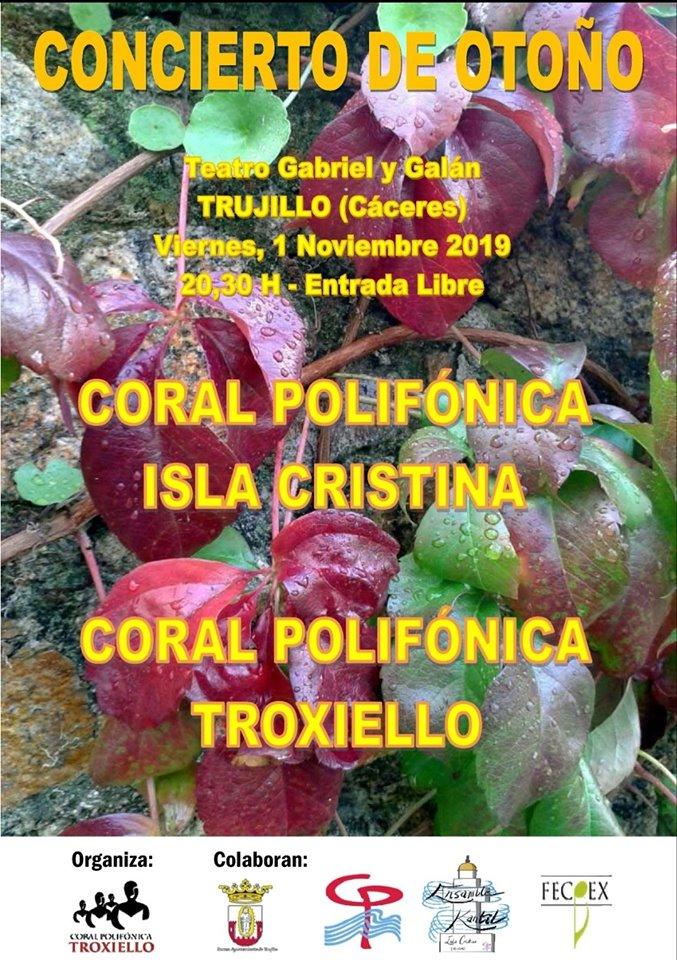 Concierto de otoño 2019 - Trujillo (Cáceres)
