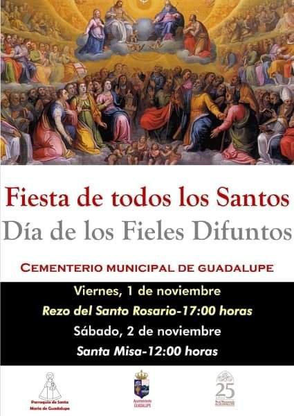 Fiesta de todos los Santos 2019 - Guadalupe (Cáceres)