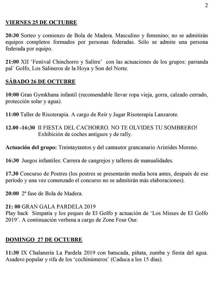 Fiestas de La Pardela 2019 - El Golfo (Las Palmas) 3