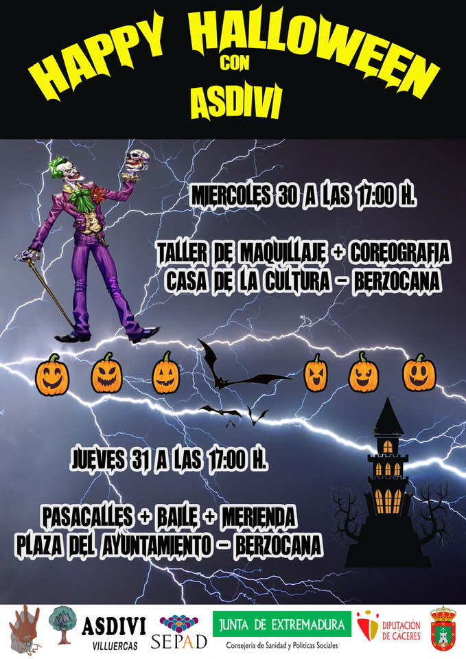 Happy Halloween 2019 - Berzocana (Cáceres)