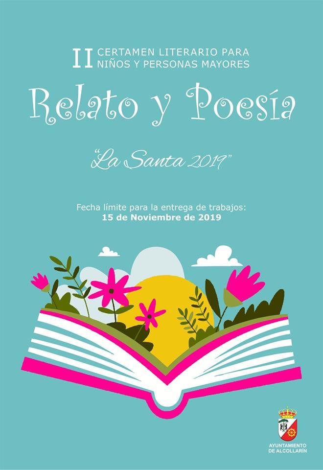 II Certamen literario para niños y personas mayores - Alcollarín (Cáceres)