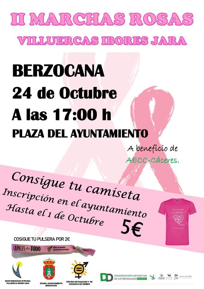 II Marchas rosas Villuercas Ibores Jara - Berzocana (Cáceres)
