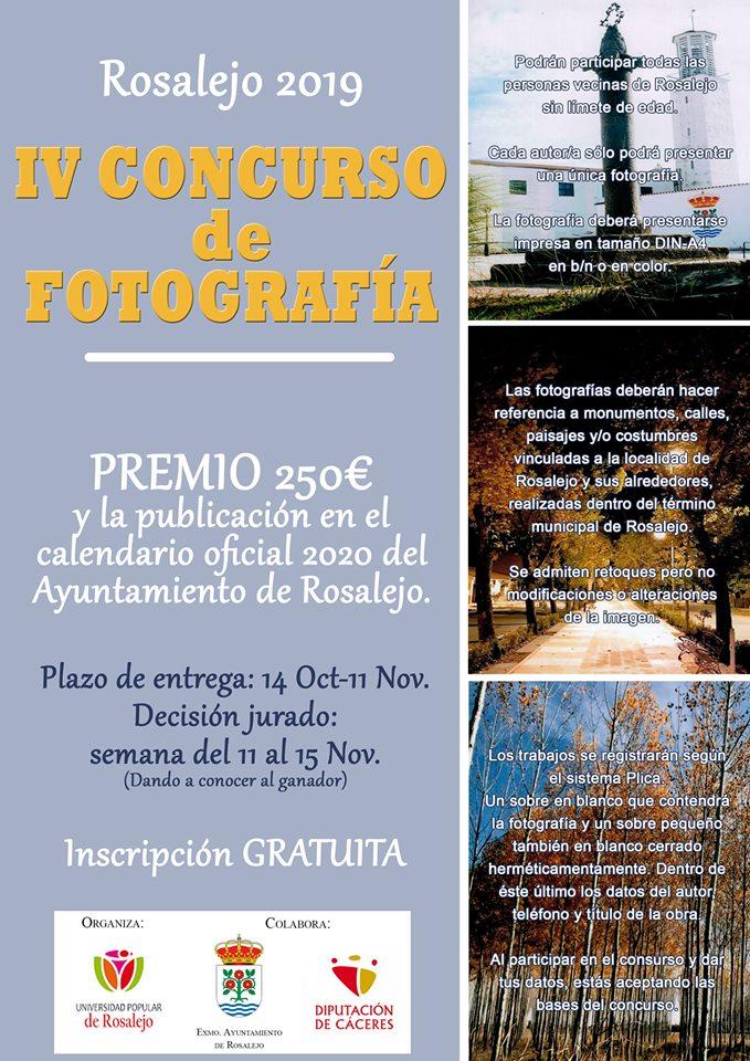IV Concurso de fotografía - Rosalejo (Cáceres)
