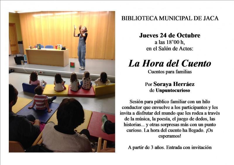 La hora del cuento 2019 - Jaca (Huesca)