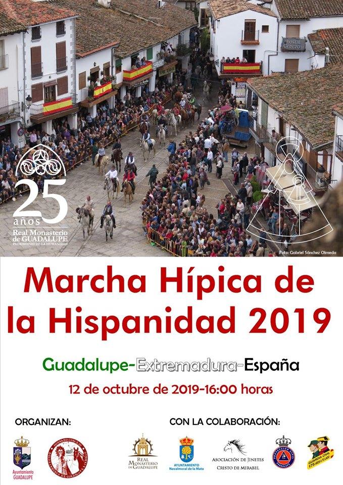 Marcha hípica de la Hispanidad 2019 - Guadalupe (Cáceres)
