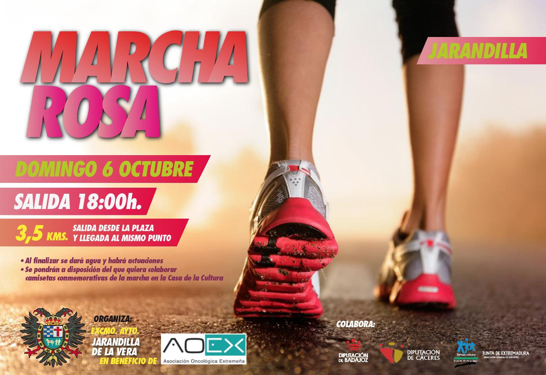 Marcha rosa 2019 - Jarandilla de la Vera (Cáceres)