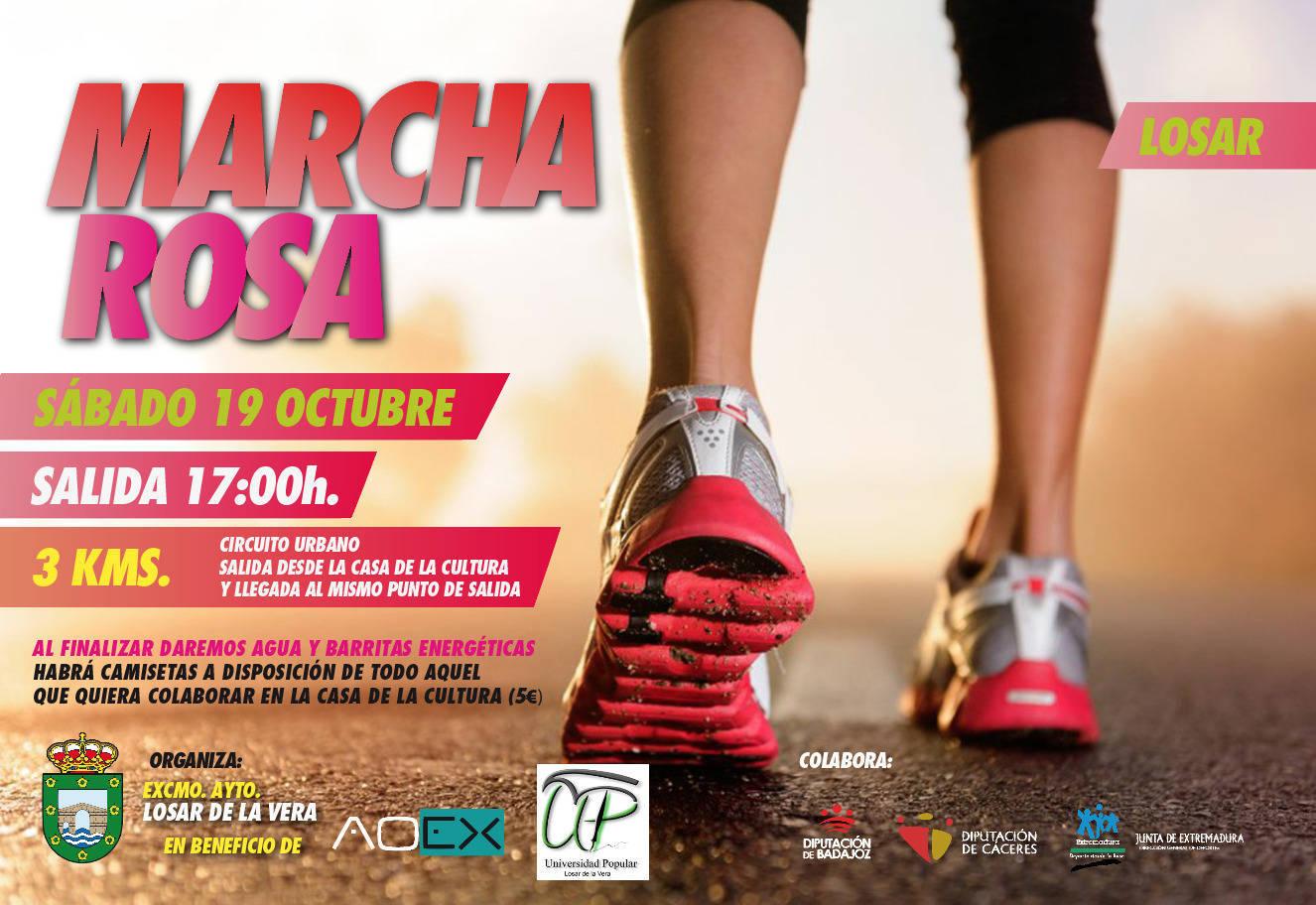 Marcha rosa 2019 - Losar de la Vera (Cáceres)