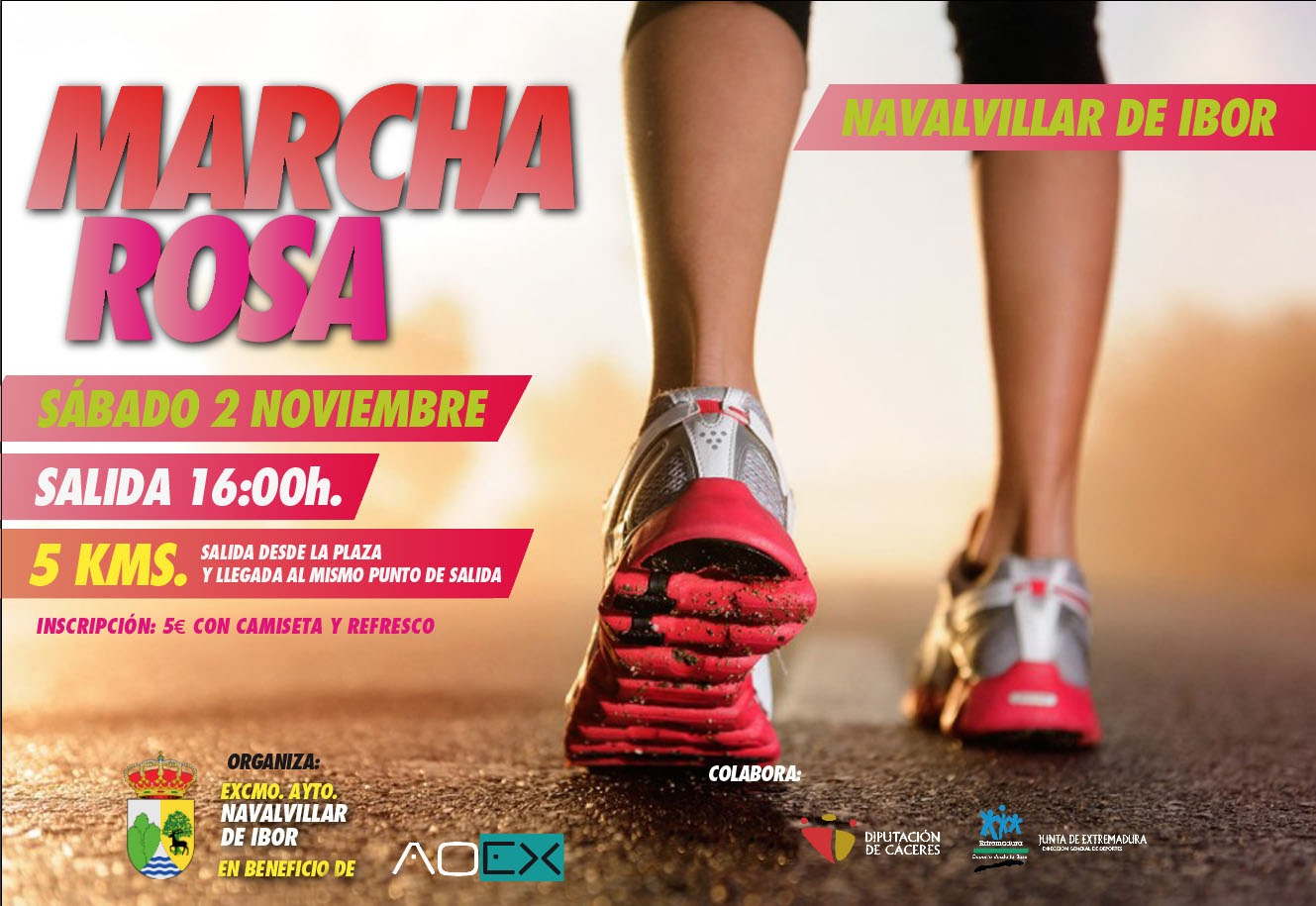 Marcha rosa 2019 - Navalvillar de Ibor (Cáceres)