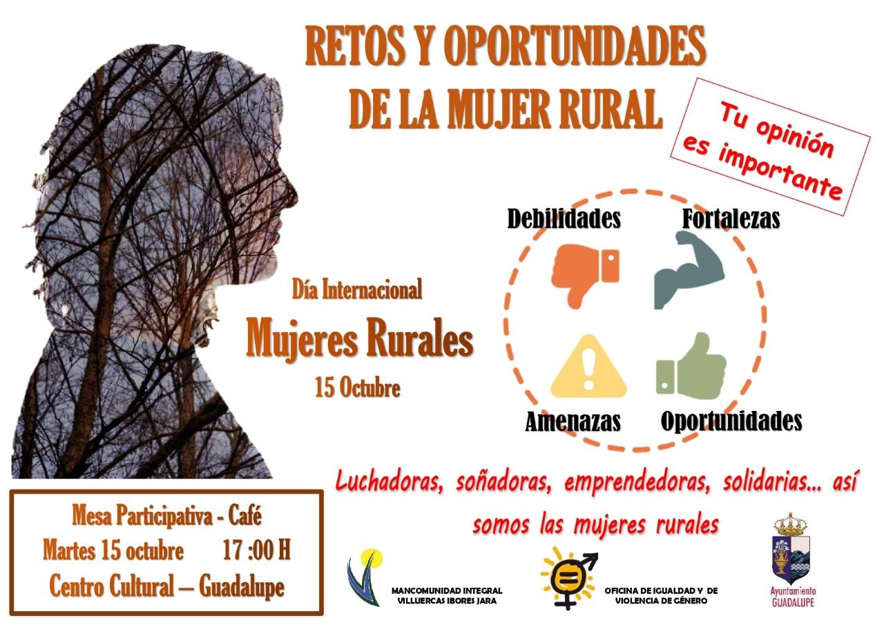Mesa participativa de mujeres rurales 2019 - Guadalupe (Cáceres)