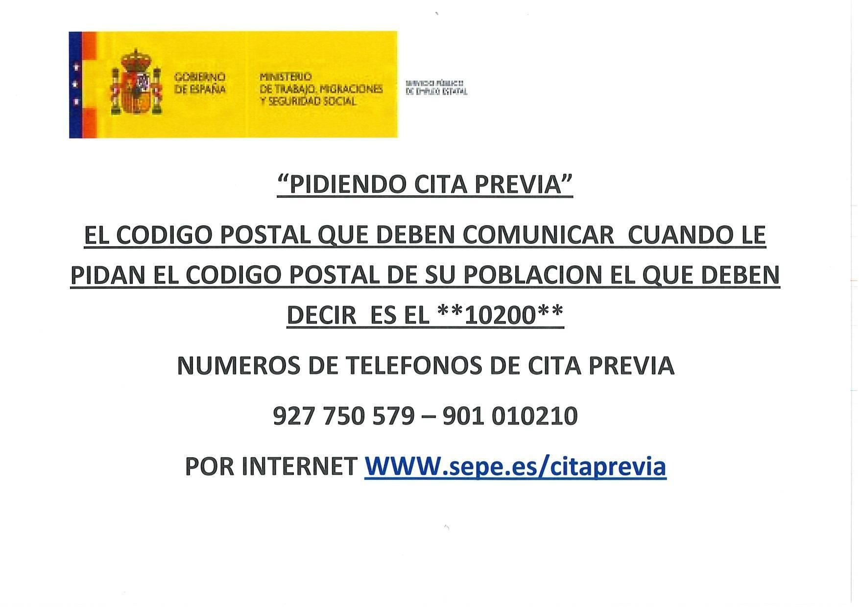 Oficina del SEPE cerrada octubre 2019 - Cañamero (Cáceres) 2