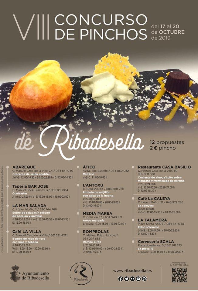 VIII Concurso de pinchos - Ribadesella (Asturias)