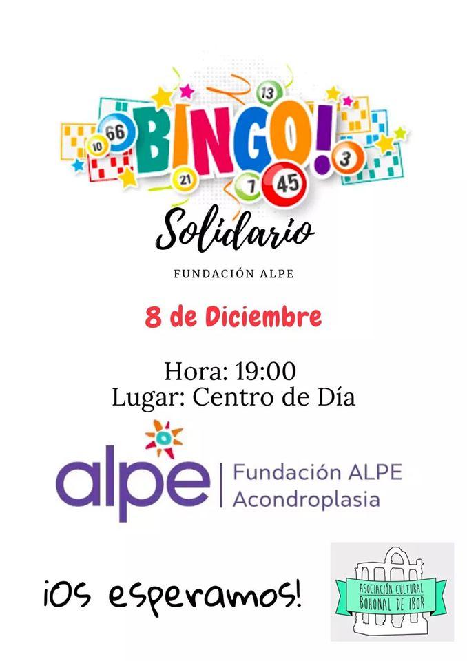 Bingo solidario 2019 - Bohonal de Ibor (Cáceres)