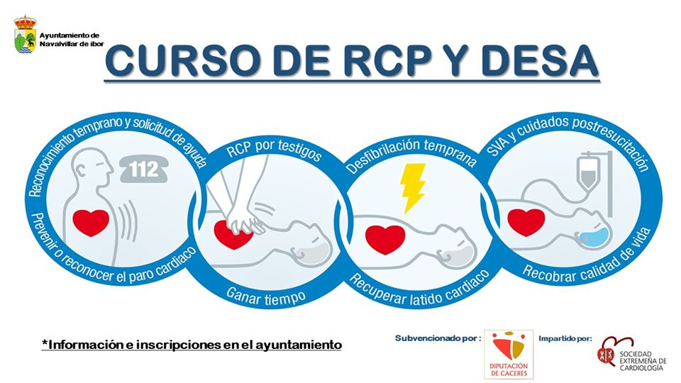 Curso de RCP y DESA 2019 - Navalvillar de Ibor (Cáceres)