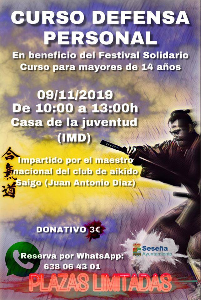 Curso de defensa personal 2019 - Seseña (Toledo)