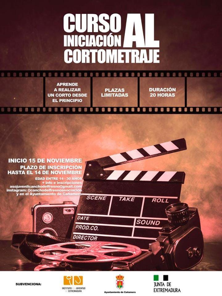 Curso de iniciación al cortometraje 2019 - Cañamero (Cáceres)